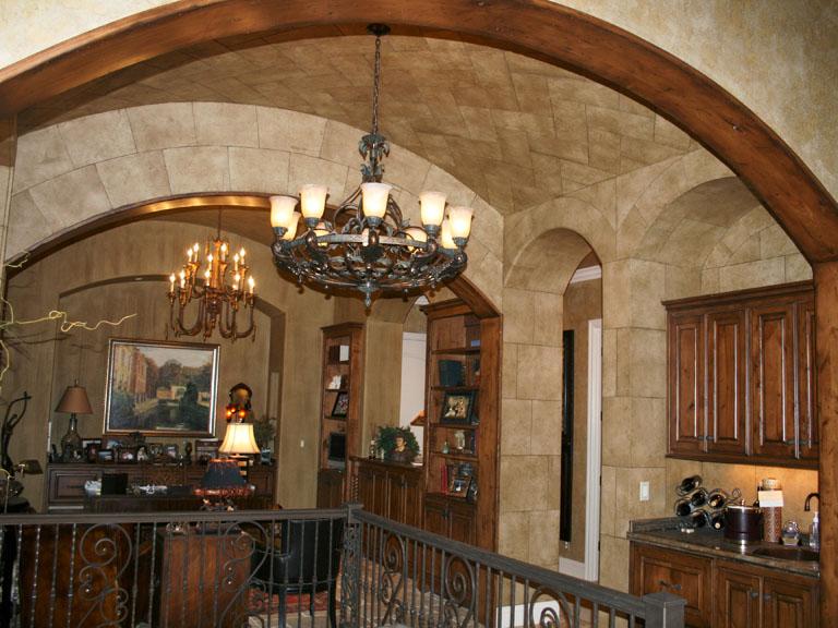 Stone Ceiling Herringbone