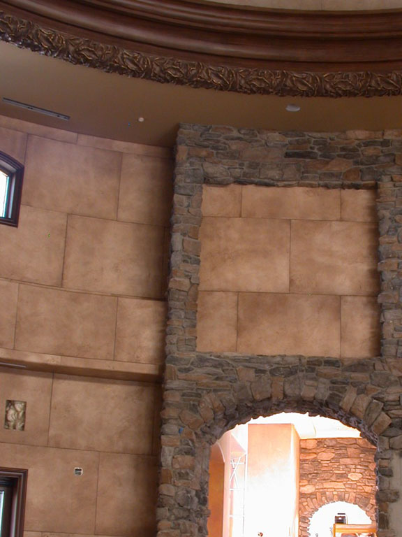 Wallcovering Gallery Massive Stone Blocks Interior
