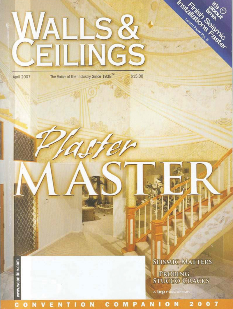 Construction Walls and Ceilings Magazine