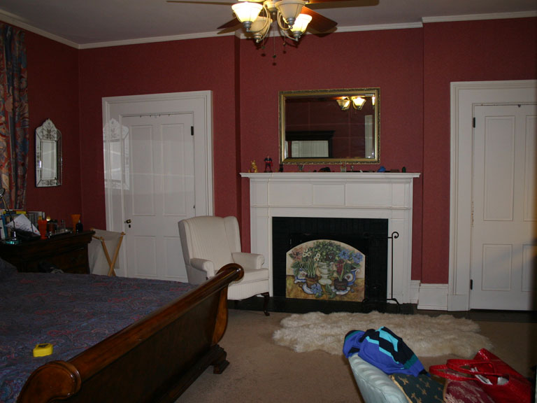 Faux Stone Fireplace Transformation_2