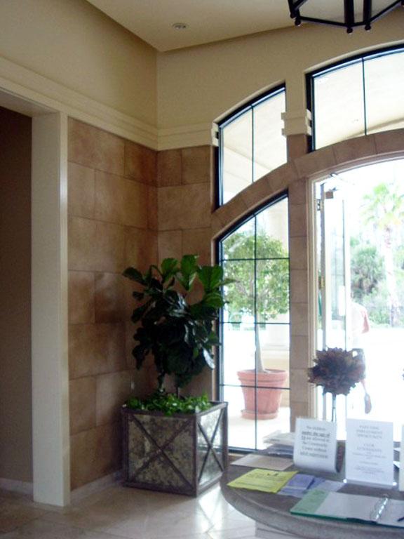 Hotel Lobby Faux Stone Destin FL_1