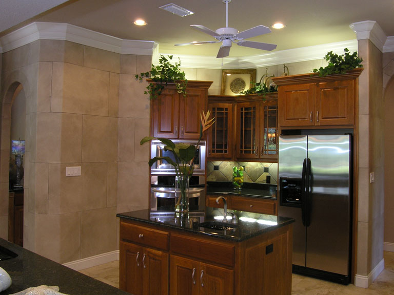 Soapstone Kitchen with Archways_1