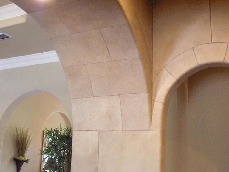 Stone Archway Wet Bar_2
