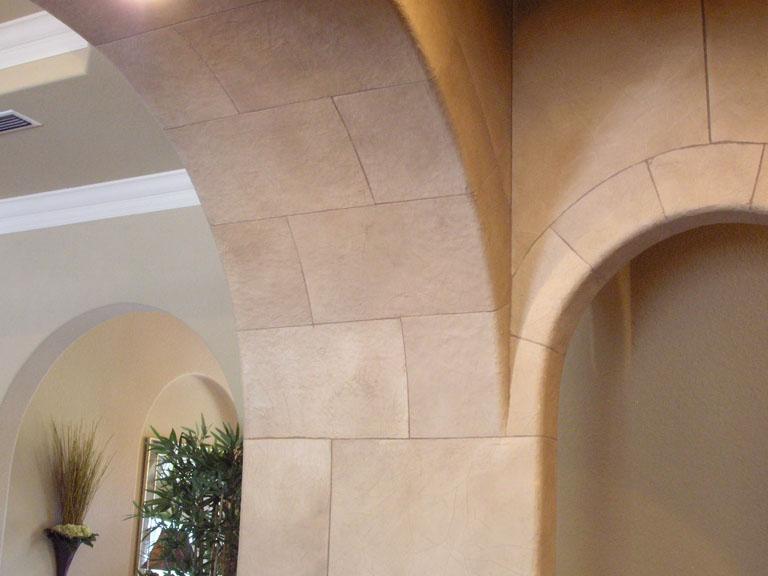 Stone Archway Wet Bar_2